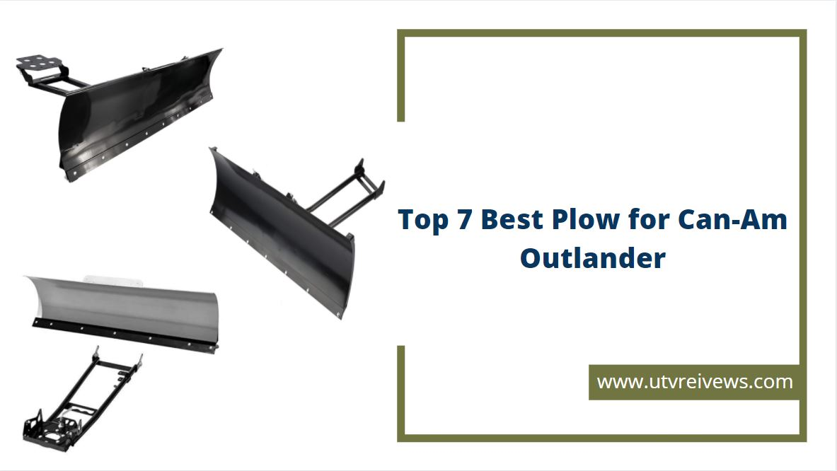 best plow for can am outlander